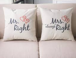 small pillow covers.  Pillow 2pcs Valentine Mr And Mrs Right Design Small Pillow Case Cotton Linen  Home Sofa Car Throw Cushion Cover Free Shippingin Cushion Cover From Home  Intended Small Pillow Covers 0