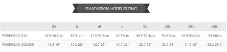 Sharkskin Wetsuit Size Chart Sharkskin Chillproof Hood Windproof Watersports Insulation