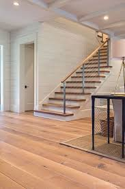 Delighful Modern Basement Flooring Tennessee Wide Plank White Oak To Creativity Design
