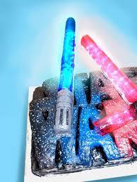 Star Wars Light Up Lollipops Le Blog Devy Star Wars Cake With Light Up Candy