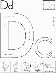 Collection of Letter d worksheet for kindergarten   Download them ...