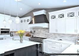 grey and white backsplash innovative nice kitchen trend for home decor with engaging modern kitchens s72 white