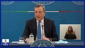 Conferenza stampa del Premier Mario Draghi del 16/04/2021