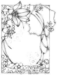 Easy Frame Design Drawing Borders Drawing Easy Transparent Png Clipart Free Download