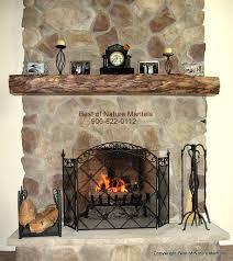 rustic wood mantel shelf new jersey oak fireplace mantel