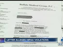 Medical Group Alleged Hipaa Violations Unfounded Wkbw Com Buffalo Ny