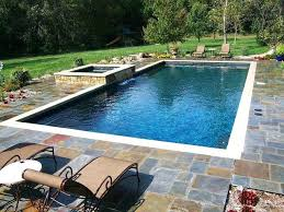 rectangular pool designs with spa. Rectangular Pool Designs Best Rectangle Ideas On Backyard Pools Deck . With Spa