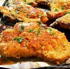 crispy oven baked pork chops