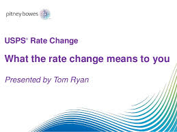 Pitney Bowes Postage Rates 2017 Chart Usps Rate Change 2017 What You Need To Know