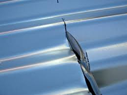 how cut corrugated iron with tin snips rug designs trash can cutting metal roofing diy garbage