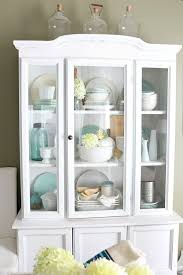 Best 25 China Cabinet Decor Ideas On Pinterest Hutch Makeover How To  Decorate A China Cabinet