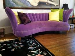 Stunning Purple Sofa Design Ideas : Stunning Purple Sofa With Various  Cushion there is never TOO
