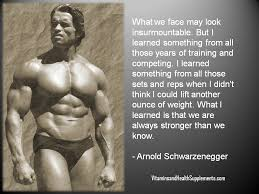 Weight Lifting Quotes 23 Stunning What I Learned From Lifting Arnold Schwarzenegger Quote