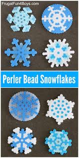 Cool Designs With Perler Beads Design Beautiful Perler Bead Snowflakes Frugal Fun For