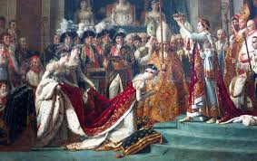 louvre painting coronation napoleon i josephine artist david