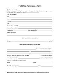 School Field Trip Permission Form Template 12 Best Permission Slips Images Field Trip Permission Slip