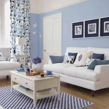 living room blue decorating ideas blue white living room