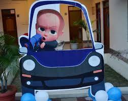 Boss Baby Theme Party Planner Delhi Gurgaon Birthday Organiser