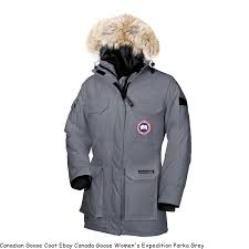 Canadian Goose Coat Ebay Canada Goose Women s Expedition Parka Grey