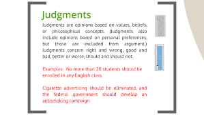 Good Judgement Examples Basic Writing Fact Inference Judgment By Katie Friedman