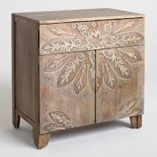 bookcases with doors on bottom. Gray Floral Medallion Carved Tara Cabinet Bookcases With Doors On Bottom