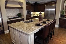 fantastisch granite countertop kitchen island furnitures wagon wheel countertops with white and dark chocolate staining cabinet