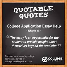 need help with your college application essay here are some great tips from college admissions