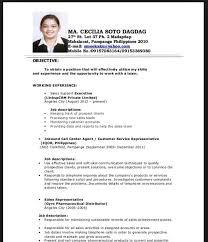 Resume Sample For Fresh Graduate Business Administration Best For