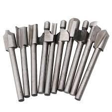 rotary tool bits. zfe 10pcs 1/8\ rotary tool bits
