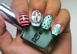 Nail art anchor ~ Beautify themselves with sweet nails