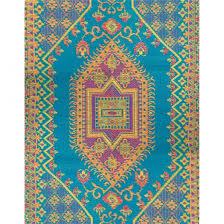 mad mats oriental turkish aqua 6x9 sku fm otu69 aq recycled mat outdoor rugs dfohome