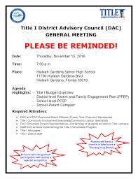 staff meeting flyer m dcps department of mental health services parent information