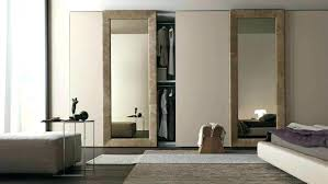 mirror doors for closet mirrored pocket door closet sliding wardrobe awesome mission style mirror closet sliding door repair
