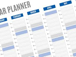 planning calendar template 2018 clander planner military bralicious co