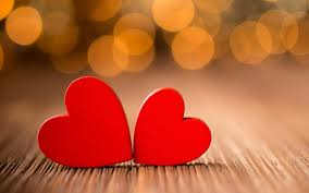 red hearts love wallpaper