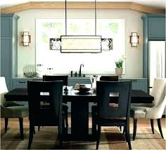 full size of best height for pendant light over dining table ideal chandelier living room above