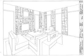 One & Two point perspective & Oblique drawing: