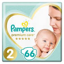 <b>Pampers Подгузники Premium</b> Care Mini р.2 (4-8 кг) 66 шт ...