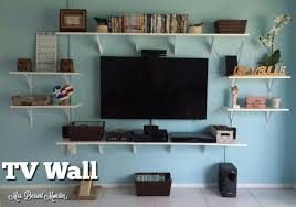 Floating Shelves Around Tv Floating Shelves Around Tv 51 Cool Ideas For Recessed Tv Floating