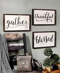 Word Signs Wall Decor Framed Word SignsFamily Room Dining Room Wall Decor Gather 93