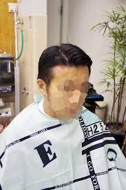 髪型ネオ七三分けバーバースタイルフェードメンズカットメンズヘア