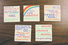 students challenge cus to brighten