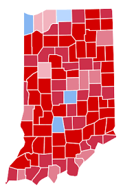 presidential elecion results united states presidential election in indiana 2016 wikipedia