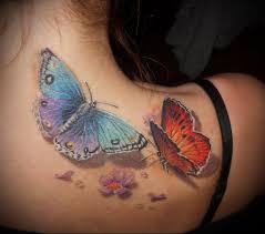 значение татуировки бабочка у девушек парней тюремное значение