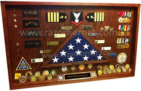 shadow box officer navy