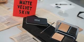 review make up for ever matte velvet skin blurring powder foundation