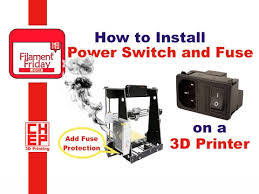 how to install iec ac plug switch fuse module on a 3d printer for Wiring A Plug For Switch how to install iec ac plug switch fuse module on a 3d printer for fuse protected power wiring a light switch for a plug