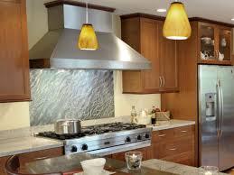 Kitchen Stainless Steel Backsplash Kitchen Backsplash Kitchen Design Contemporary Stainless Steel