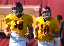 Usc 2018 Depth Chart Breakdown Of Usc Footballs Week 1 Depth Chart Orange