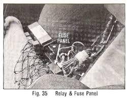 fuses and fuse box delorean tech wiki fandom powered by wikia deloreanownersmanual fuses